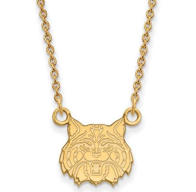 University of Arizona 14k Yellow Gold Small Pendant Necklace