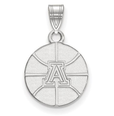 University of Arizona 14k White Gold Small Pendant