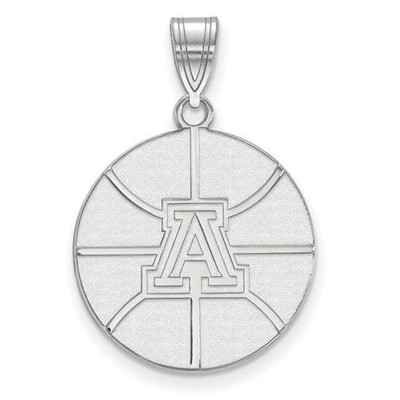 University of Arizona Wildcats Sterling Silver Large Pendant