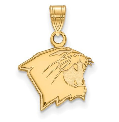 Northwestern University 14k Yellow Gold Small Pendant