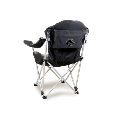 Boise State Broncos Reclining Camp Chair - Black
