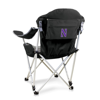 Northwestern Wildcats Reclining Camp Chair