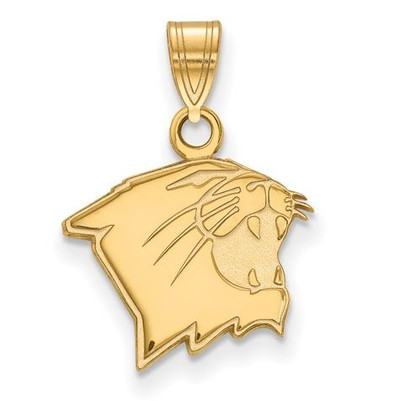 Northwestern University 10k Yellow Gold Small Pendant