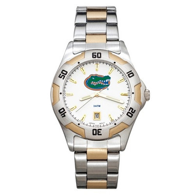 Florida Gators Men's All-Pro Men's Two-Tone Watch
