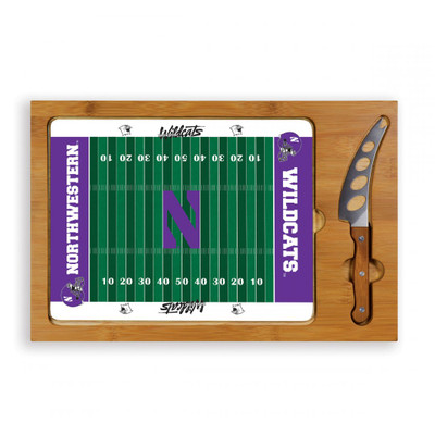 Northwestern Wildcats Icon Cheese Tray
