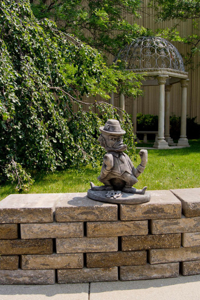 Notre Dame Fighting Irish Vintage Mascot Garden Statue