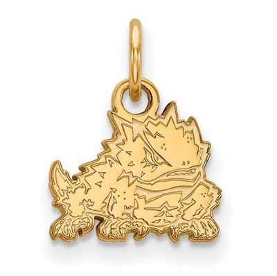 TCU 14k Yellow Gold Extra Small Pendant