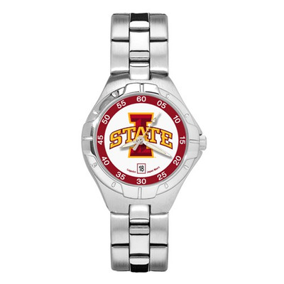 "Iowa State ""I STATE"" Woman's Pro II Bracelet Watch"