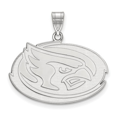 Iowa State University Cyclones 14k White Gold Large Pendant
