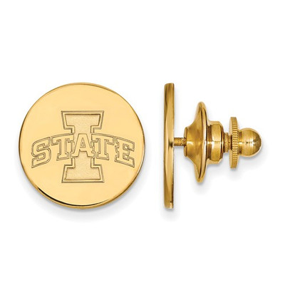 Iowa State University 14k Yellow Gold Lapel Pin