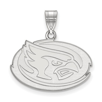 Iowa State University 14k White Gold Medium Pendant