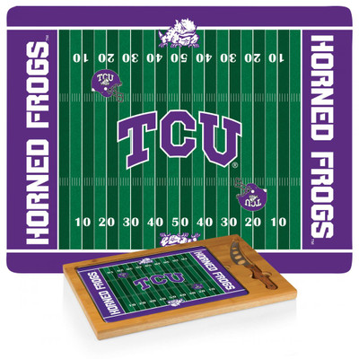 TCU Horned Frogs Icon Cheese Tray