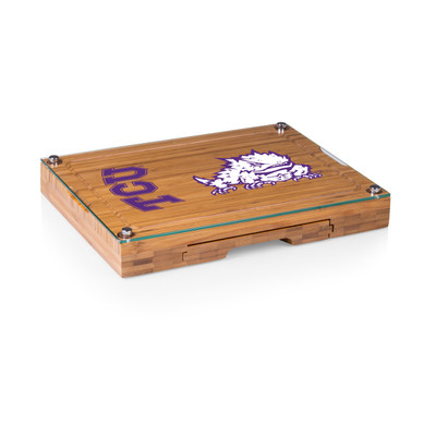 TCU Horned Frogs Concerto Bamboo Cutting Board
