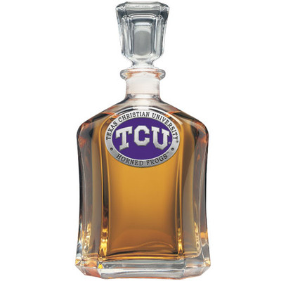 TCU Horned Frogs Capitol Decanter