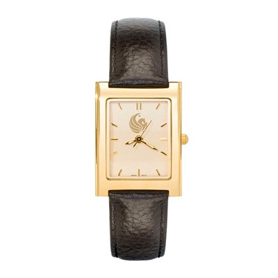 UCF Pegasus Woman's SQ Dress Leather Watch