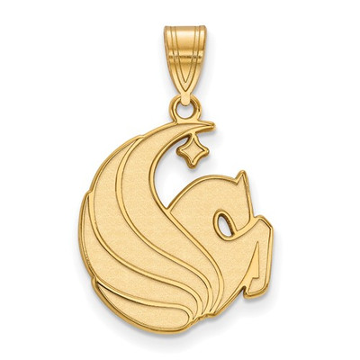 University of Central Florida 10k Yellow Gold Large Pendant