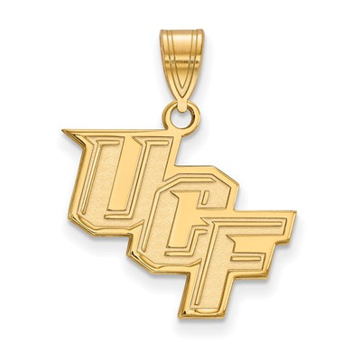 University of Central Florida 14k Yellow Gold Medium Pendant