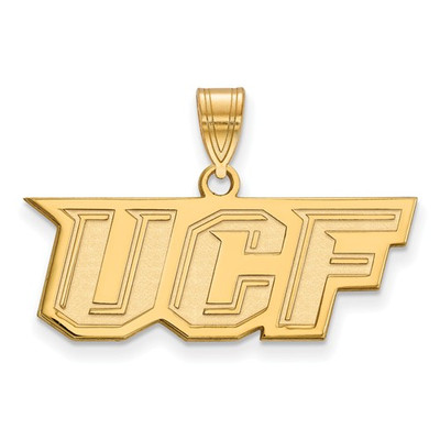 University of Central Florida Knights 14k Yellow Gold Medium Pendant