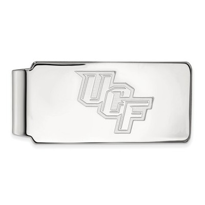 University of Central Florida 14k White Gold Money Clip