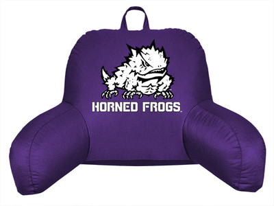 TCU Horned Frogs Bedrest Pillow