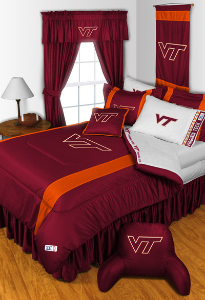 Virginia Tech Hokies Comforter Set | Sports Coverage | 04JSCOM4VATSET