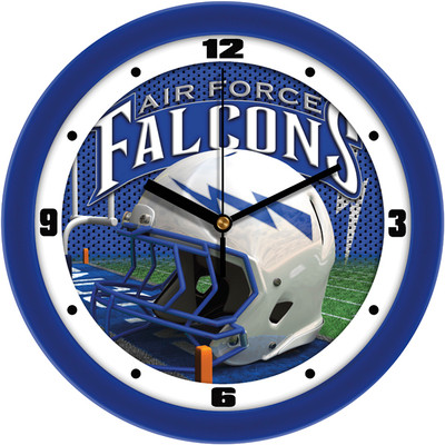 Air Force Academy Football Helmet Wall Clock