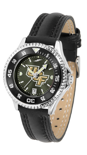 UCF Knights Ladies Competitor AnoChrome Watch with Color Bezel
