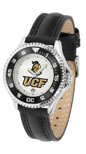 UCF Knights Ladies Competitor Sport Leather Watch