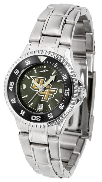 UCF Knights Ladies Competitor Steel AnoChrome Watch with Color Bezel