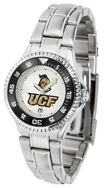 UCF Knights Ladies Competitor Steel Watch | SunTime | st-co3-ucf-complm