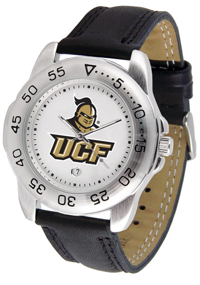 UCF Knights Men's Sport Leather Watch