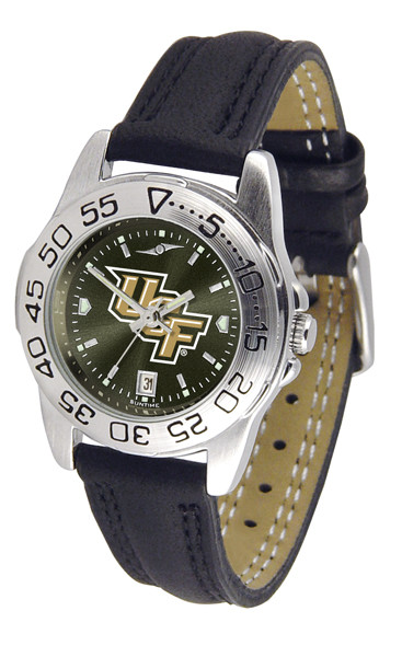 UCF Knights Ladies Sport Leather AnoChrome Watch