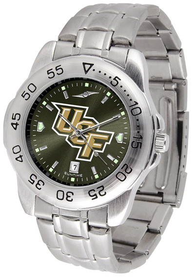 UCF Knights Men's Sport Steel AnoChrome Watch