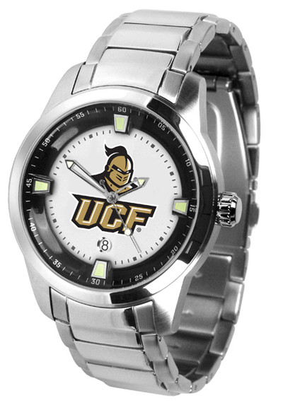 UCF Knights Men's Titan Steel Watch