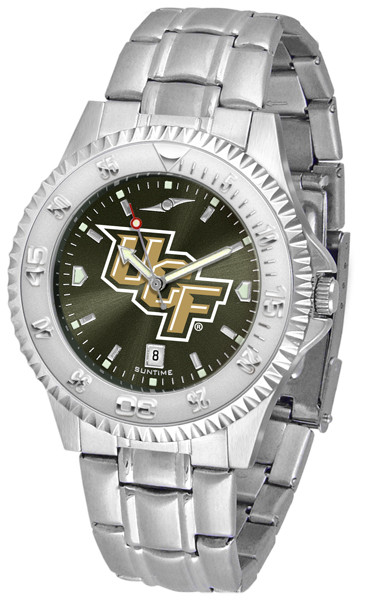 UCF Knights Men's Competitor Steel AnoChrome Watch