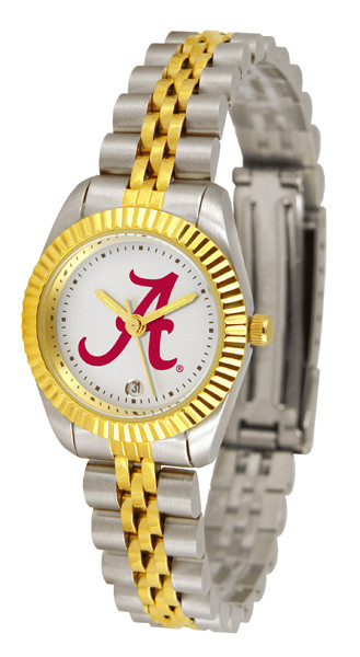 Alabama Crimson Tide Ladies Premium Executive Watch | SunTime | ST-CO3-ACT-LEXT