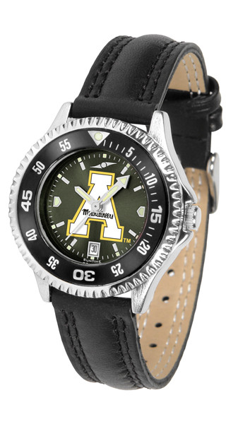 Appalachian State Mountaineers Ladies Competitor AnoChrome Watch with Color Bezel
