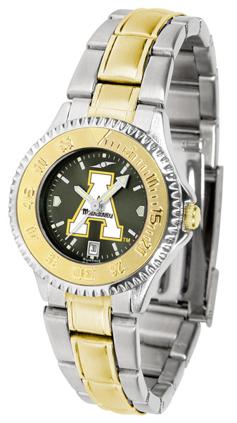 Appalachian State Mountaineers Ladies Competitor Two-Tone AnoChrome Watch