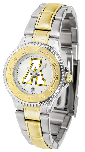 Appalachian State Mountaineers Ladies Competitor Two-Tone Watch