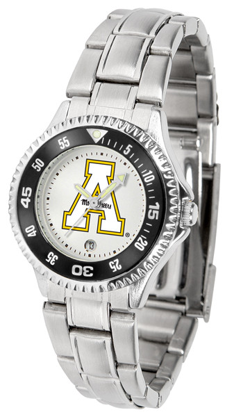 Appalachian State Mountaineers Ladies Competitor Steel Watch