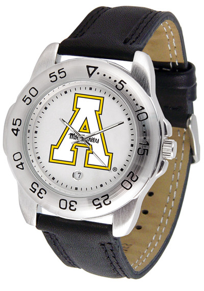 Appalachian State Mountaineers Men's Sport Leather Watch