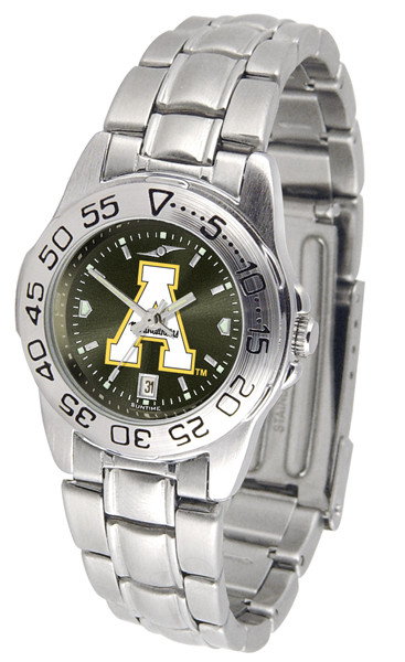 Appalachian State Mountaineers Ladies Sport Steel AnoChrome Watch