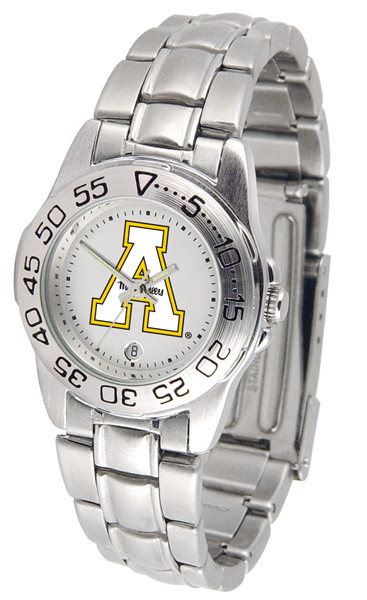 Appalachian State Mountaineers Ladies Sport Steel Watch