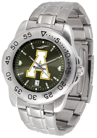 Appalachian State Mountaineers Sport Steel AnoChrome Watch
