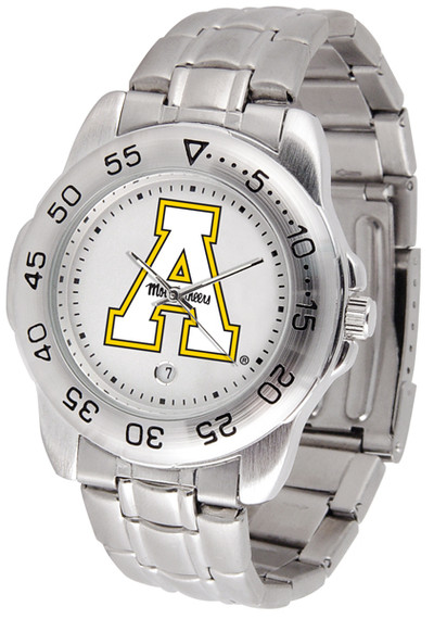 Appalachian State Mountaineers Men's Sport Steel Watch
