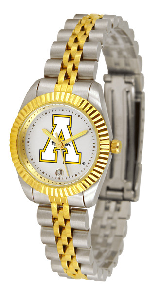 Appalachian State Mountaineers Ladies Premium Executive Watch | SunTime | ST-CO3-ASM-LEXT