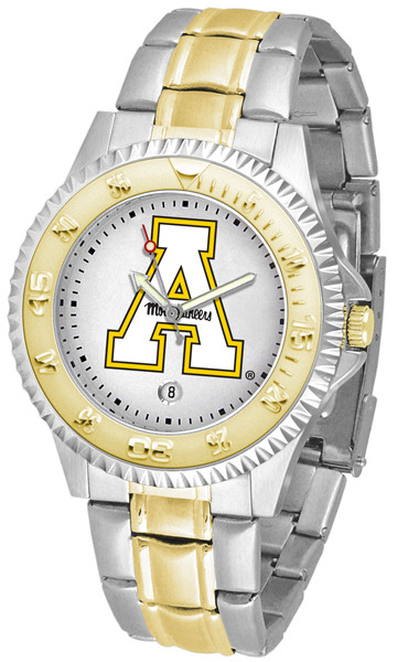 Appalachian State Mountaineers Men's Competitor Two-Tone Watch