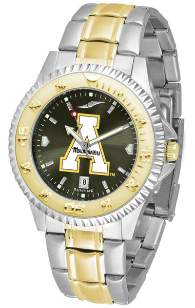 Appalachian State Mountaineers Men's Competitor Two-Tone AnoChrome Watch