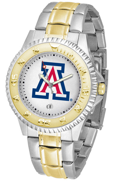 Arizona Wildcats Men's Competitor Two-Tone Watch