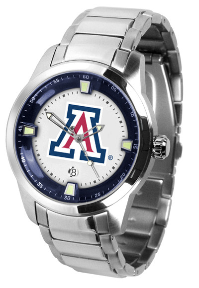 Arizona Wildcats Men's Titan Steel Watch